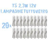 N° 20 Bombillas T5 2,3W 12V Tablero de Instrumentos Instrumentación Zócalo 2A1A