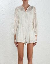 ZIMMERMANN EDEN WEB DOT PLAYSUIT BNWT Size 3 SOLD OUT EVERYWHERE