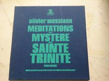 MESSIAEN Meditations sur le Mystere de la Sainte Trinite POUR ORGUE 2LP SET