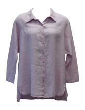 Flax Dramatic Shirt   NWT  Lavender   Oversize Artsy Linen   Size  1X / 1G