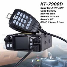 QYT KT-7900D Quad Band Quad-Standby Car Amateur Mobile Radio Repeater Function