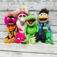 Disney Store The Muppets Plush Soft Toys Bundle Kermit, Piggy, Animal, Walter