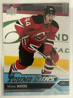 2016-17 Miles Wood Young Guns Rookie Upper Deck #453 New Jersey Devils