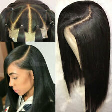 13x6 Lace Front Wig Straight Pre Plucked Brazilian 100% Human Hair Full Wigs TS2