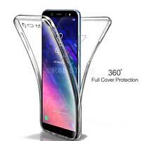 Coque pour Samsung Galaxy J6 2018 Étui Avant Arrière 360° Silicone Touch Full