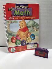 LeapFrog LeapStart Math Disney Lots & Lots of Honeypots K-Age 5 Book & Cartridge