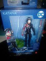 DC Comics Multiverse Katana Figure Killer Croc BAF New