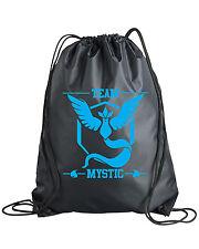 Drawstring Pokemon Go Team Mystic Backpack Bag Instinct Valor Sticker Shirt Plus