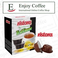 48 Capsule Tè al Limone - Ristora - Cialde compatibili macchine caffè A Modo Mio