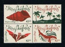 Tonga - 2017 Christmas Block of 4 Stamps