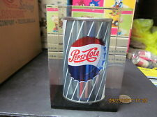 PEPSI STEEL CAN ENCAPSILATED IN LUCITE 1950'S VERY RARE NOT A MASS PRODUCED ITEM