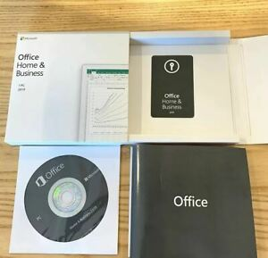 MAC Microsoft Office 2019 Home and Business for 1 MAC | Lifetime
