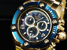 Invicta Reserve Men Grand 63mm Arsenal BLACK MOP Swiss Made Chrono 18KGIP Watch