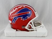 Andre Reed Signed Buffalo Bills 87-01 TB Mini Helmet W/ HOF- JSA W Auth *White