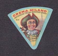 Ancienne petite étiquette fromage Italie   BN18373 Locatelli Homme
