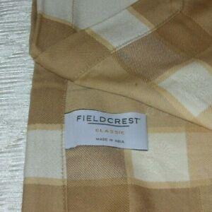 """Fieldcrest  Classic 4 Pack Napkins 100% Cotton Fabric 20"""" x 20"""" Gold Color"""