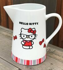 """New ~ Rare Collectible """"Hello Kitty Porcelain Pitcher"""""""