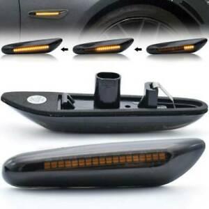 For BMW 1 3 5 E90 E46 E60 X1 X5 X3 Dynamic LED Repeater Side Indicator Flasher