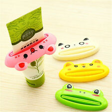 1PC Bathroom Home Tube Rolling Holder Squeezer Easy Cartoon Toothpaste Dispenser