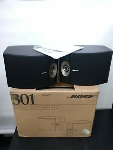 New Bose 301 Series V Direct / Reflecting Speaker System (Pair) #29309 - Black