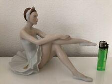 Royal Dux Ballerina Tänzerin Figur Bohemia Czechoslovakia Top Zustand.