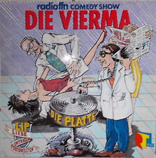 LP Radio FFN Comedy Show - Die Vierma MINT-,cleaned 1989 D - Edelton EDL 2515-1
