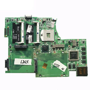 CN-0YW4W5 YW4W5 For DELL L702X GT-555M 3GB Intel Motherboard Test Free Shipping