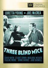 Three Blind Mice - Region Free DVD - Sealed