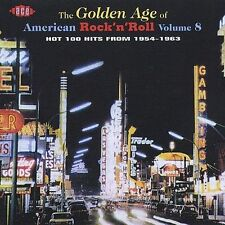 Golden Age of American Rock 'n' Roll, Vol. 8 (CD, Nov-1999, Ace)