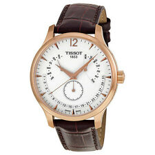 New Tissot Tradition Perpetual Calendar Rose Gold PVD Men's Watch T0636373603700