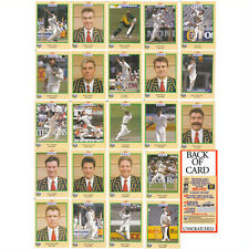 MINT BUTTERCUP CRICKET 95/96  CARDS AUSTRALIA, PAKISTAN , SRI LANKA, WEST INDIES