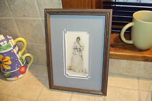 "Framed ""Joan Brown"" numbered & Signed #43/500 Reproduction Print/Art/Drawing"