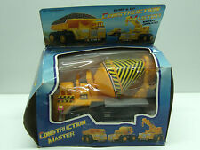 90'S Vintage Toy Battery Operated Cement Mixer Truck Bump And Go Mib