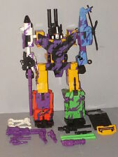 "G2 TRANSFORMER COMBATICON BRUTICUS COMPLETE LOT # 1 ""VERY NICE!"""