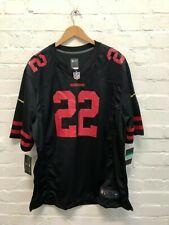 Nike San Francisco 49ers NFL Men's Alternate Jersey - Brieda 22 - Black - New