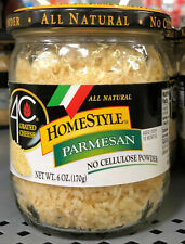 4C HomeStyle All Natural Parmesan Grated Cheese 6 oz. Jar Spaghetti Alfredo