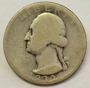 1932-D Washington Quarter 25c