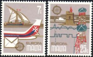 (Ref-13872) 1979 Malta  Europa - Communications   SG.625/626 (MNH)