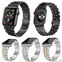 Stainless Steel Wrist Watch Band Strap Bracelet For Apple Watch Series 4/3/2/1