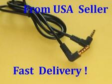 12ft 3.5mm Right Angle TRRS 4 Pole AV Male to Male Cable Cord Audio Adapter Aux