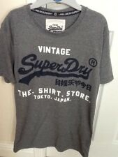 Mens Brand New Grey Superdry TShirt size Small