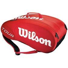 WILSON Tour 9 STAMPATA Alta Qualità Racchetta da tennis bag rrp £ 80