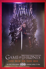 Game of Thrones Season 1 HBO 2011 Movie Poster 24X36 NEW    GOT1