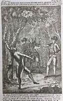 Duel de Barnave et Cazales 1790 Bois de Boulogne Paris Révolution Française