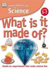 What is it Made of? (Experiments in Science),David Glover