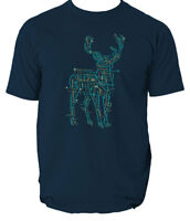 Electric Deer T Shirt Top Dementors Harry Potter S-3XL