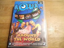 AQUA AROUND THE WORLD DANISH VHS TAPE VIDEO´S, DIARY´S & INTERVIEWS USED VHS NCB