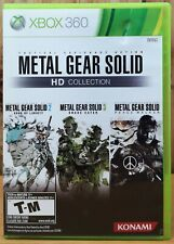Metal Gear Solid HD Collection (Xbox 360, 2011, Konami) *Complete T-M