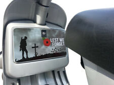 Tool Glove Box Sticker fits Vespa PX T5 LML Scooter Remembrance Poppy Decal TB32