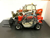 Universal hobbies 1/32 MANITOU MT625T Comfort With Fork Diecast Model